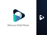 Mercury Orbit Music Logo