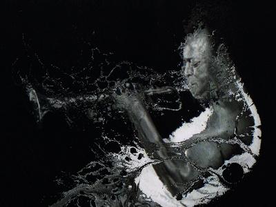 Feel Miles photoshop tribute music retouching
