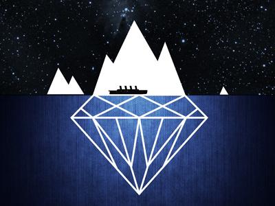 Titanic titanic movie illustrator minimalism