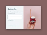 Daily UI 026: Subscribe