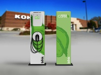Kohl's Cares Wrap Design for Blink EV Charger