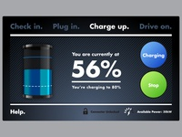 DC Fast Charger UI Design
