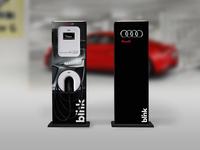 Audi Branded Graphics for Blink Pedestal