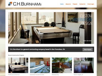 Construction Firm Web Site
