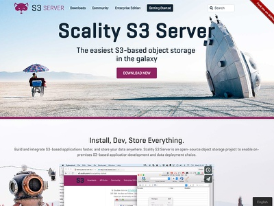 S3 Server scality object storage spaceship documentation readmeio readme design s3 server