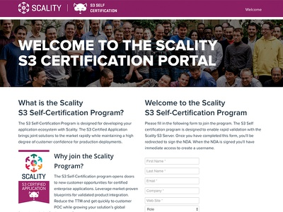 Certification Portal design portal website liferay certification s3