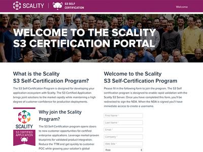Certification Portal design portal website liferay certification s3