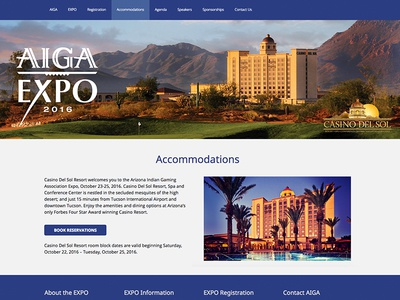 Annual Convention Website for AIGA EXPO 2016 woocommerce wordpress design convention web site 2016 design wordpress convention expo