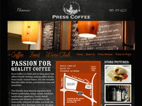 Coffee House Web Site