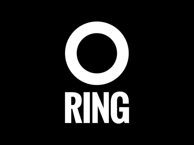 Scality RING Logo 2018 branding branding oswald font white logo modern logo circle logo black and white logo circle ring logo