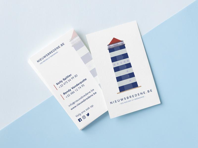 Nieuwsbredene.be Business Card