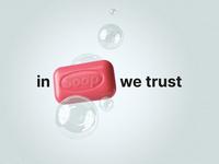 Soap Poster Covid Prevention