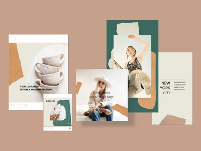 Instagram Templates for Canva rustic instagram trends wedding social media marketing smm instagram stories story post feed instagram canvas template creative ideas branding boho download blog blogger