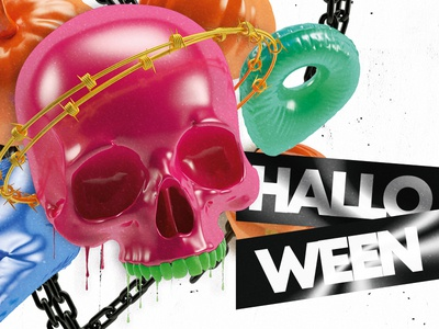 Halloween Print Design