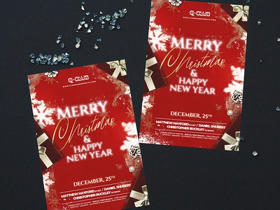 Elegant Christmas Flyer