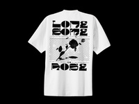 Lonesome Rose Tshirt