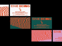 Time Being Business Cards