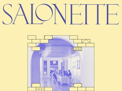 Salon Style Series community venue salon pattern design identity vector brand design poster logo typography branding