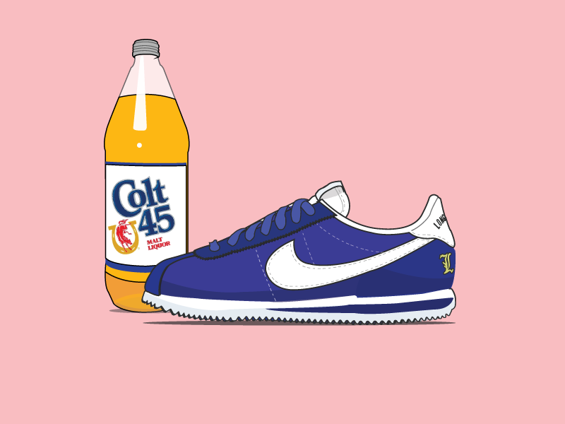 size 40 d2147 f5a0a Nike - Cortez LBC by Jake Wooldridge on Dribbble