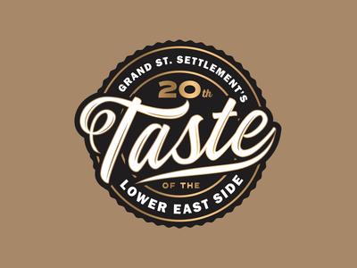 Taste Badge