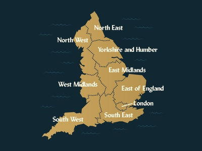 England info europe ocean design type island west font geography map england illustration