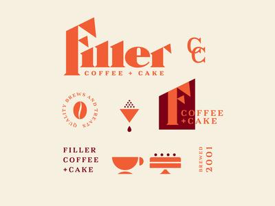 Filler Coffee + Cake Identity