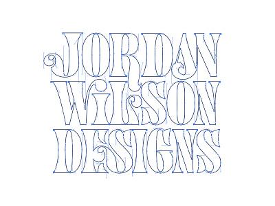 JWD2 lettering logo type grid wireframe design typography typedesign type guides grid wireframe lettering