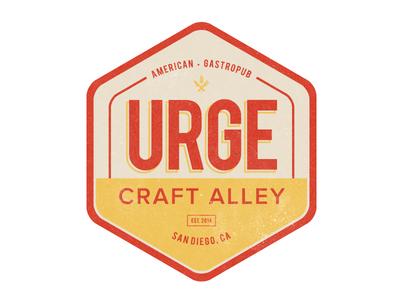 Urge Brand Pt. 3 branding logo