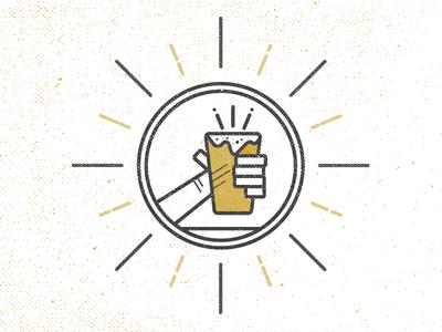 Cheers! icon cheers beer stone urge