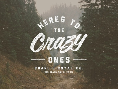 The Crazy Ones crazy apple outdoors charlie royal texture