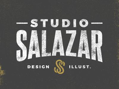 Studio Salazar logo san diego illustration design freelance salazar studio