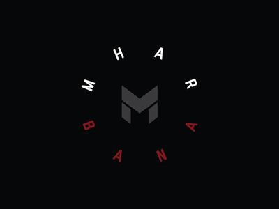 MHARBANA Logo fitness brand logo