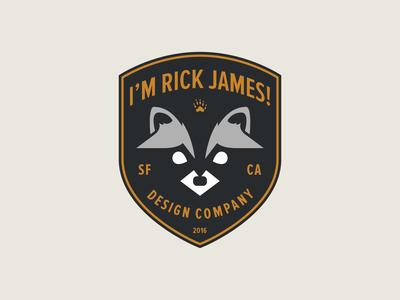Racoon Badge
