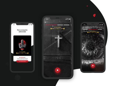 #3 - Escape Room App - Stories videos brazil stories game app app ux ui gamification escape escape room