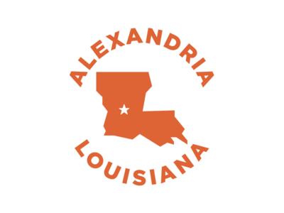 Alexandria, Louisiana Badge