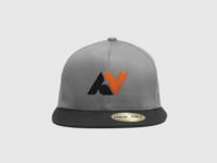 AV Monogram Hat Mockup