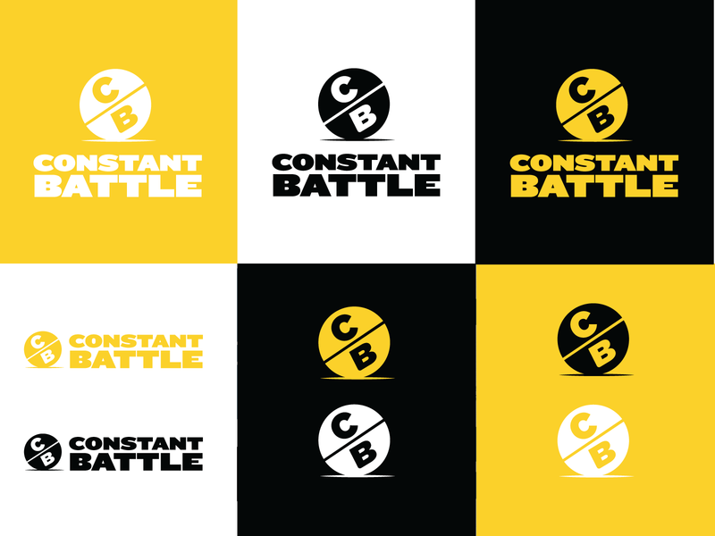 Identity- Constant Battle Meals branding logo