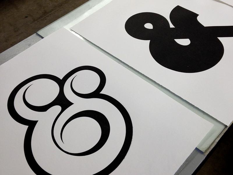 Woodblock Prints woodblock woodcut prints ampersands illustration printmaking