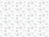 Rainy Day Pattern