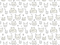 Silly Cats Pattern