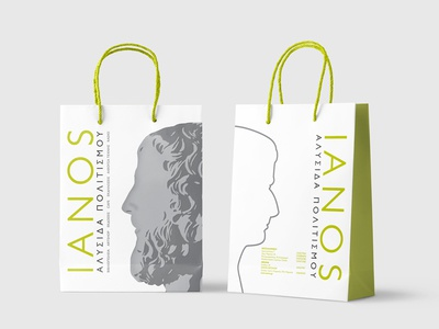 IANOS Paper bag - Package Design