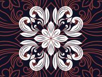 Minangkabau Engraving Pattern #1