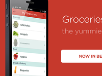 Groceries Now In Beta!