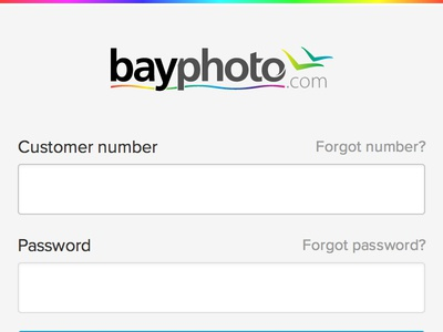 Bayphoto Login Mobile 1