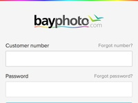 Bayphoto Login Mobile 1