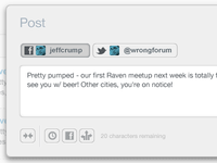 Raven - Social postbox