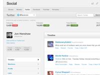 Raven Social UI revamp