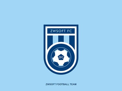 football team LOGO illustration logo football