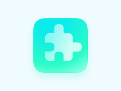 Puzzle icon ui icon