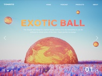 Exotic ball